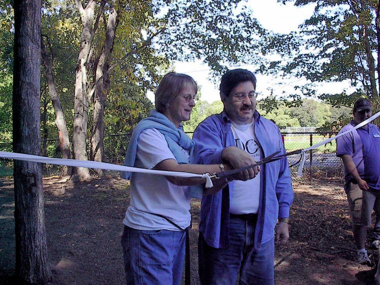 Mayor Amento and RDOG President Veronica Soell
