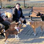 Mary's Basenji Leads Howling Party